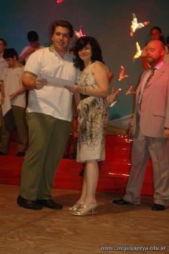 Acto de Colacion de la Promocion 2009 73