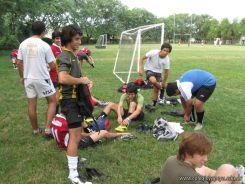 Amistoso de Futbol y Rugby 11