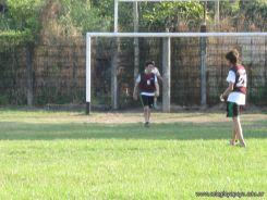 Amistoso de Futbol y Rugby 85
