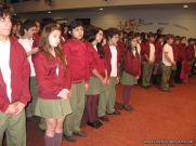 Promesa de Lealtad a la Bandera de la Secundaria 17