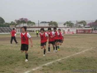 1er partido Copa Coca Cola 21