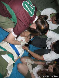 3ra Clase de Primeros Auxilios 108