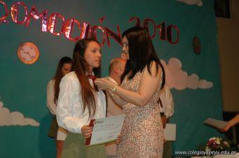 Acto de Colacion de la Promocion 2010 65