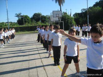 3er grado empezo el Campo Deportivo 31