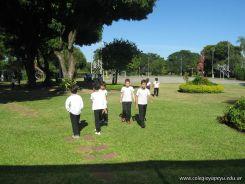 3er grado empezo el Campo Deportivo 76
