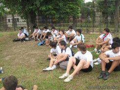 La Secundaria empezo el Campo Deportivo 92