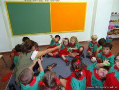 Primera semana de clases del Jardin 122
