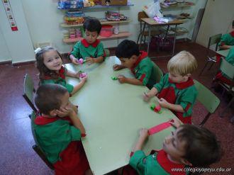 Primera semana de clases del Jardin 125