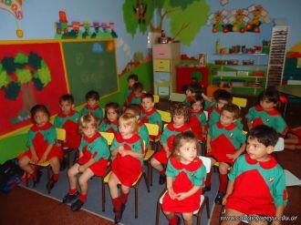 Primera semana de clases del Jardin 126