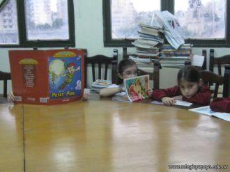 2do grado en la Biblioteca 12