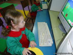 Los peques en Salas de Informatica 10