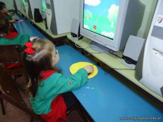 Los peques en Salas de Informatica 12