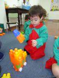 Salas de 3 jugando con Bloques 13