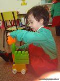 Salas de 3 jugando con Bloques 14