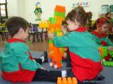 Salas de 3 jugando con Bloques 21