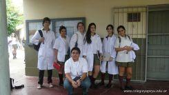 Visita a la catedra de Microbiologia 1