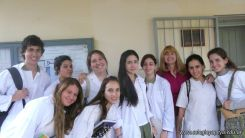 Visita a la catedra de Microbiologia 2