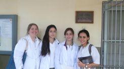 Visita a la catedra de Microbiologia 4
