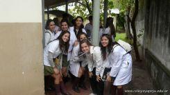 Visita a la catedra de Microbiologia 7