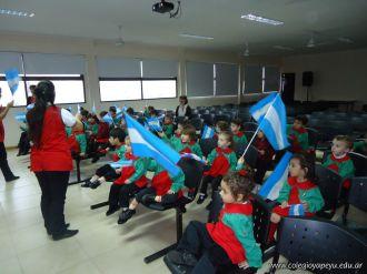 Acto por el Dia de la Bandera del Jardin 5