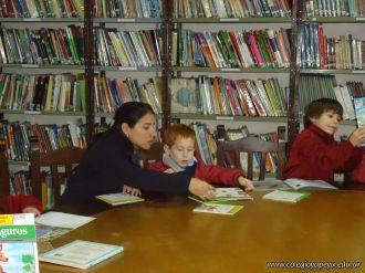 El Jardin leyendo en Biblioteca 42