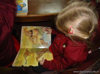 El Jardin leyendo en Biblioteca 9