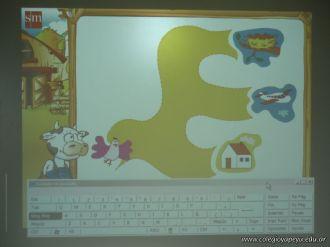 Paca la vaca con la Pizarra Digital 102