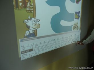 Paca la vaca con la Pizarra Digital 123