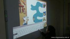 Paca la vaca con la Pizarra Digital 25