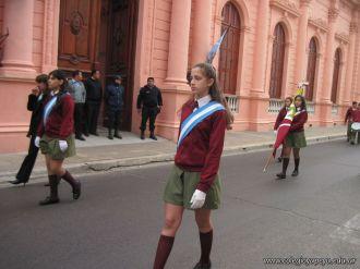 Desfile en Homenaje y Festejo de Cumple 140