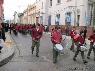 Desfile en Homenaje y Festejo de Cumple 144