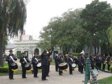 Desfile en Homenaje y Festejo de Cumple 168