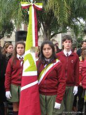 Desfile en Homenaje y Festejo de Cumple 207