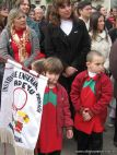 Desfile en Homenaje y Festejo de Cumple 211