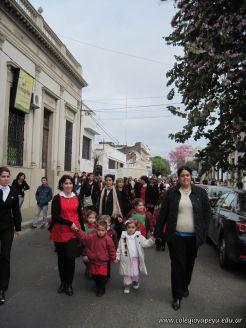 Desfile en Homenaje y Festejo de Cumple 240