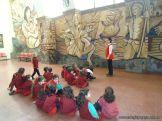 Salas de 3 y 4 visitaron el Mural 8