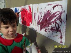 Salas de 3 pintando 19