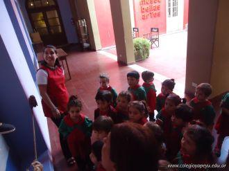 Salas de 3 visitaron la Muestra Karai Octubre 12