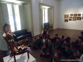 Salas de 3 visitaron la Muestra Karai Octubre 42