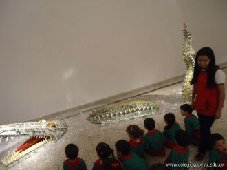 Salas de 3 visitaron la Muestra Karai Octubre 45