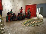 Salas de 3 visitaron la Muestra Karai Octubre 46