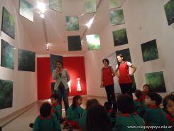 Salas de 3 visitaron la Muestra Karai Octubre 54