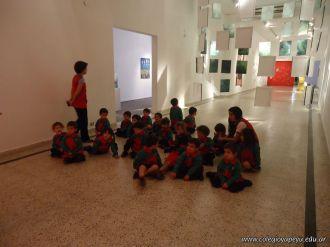 Salas de 3 visitaron la Muestra Karai Octubre 56