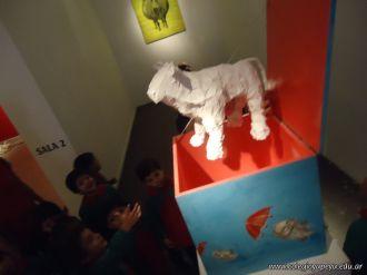 Salas de 3 visitaron la Muestra Karai Octubre 64