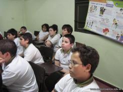 Charla de Educacion Sexual a 6to grado 8