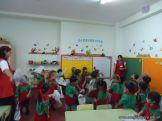Primer semana de clases en el Jardin 103