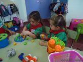 Primer semana de clases en el Jardin 121
