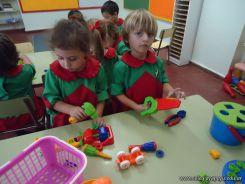 Primer semana de clases en el Jardin 122