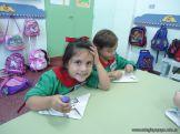 Primer semana de clases en el Jardin 140