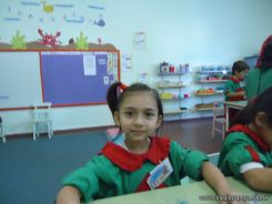 Primer semana de clases en el Jardin 156